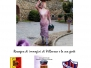 La donna delle violette